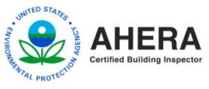 AHERA Certified Building Inspector