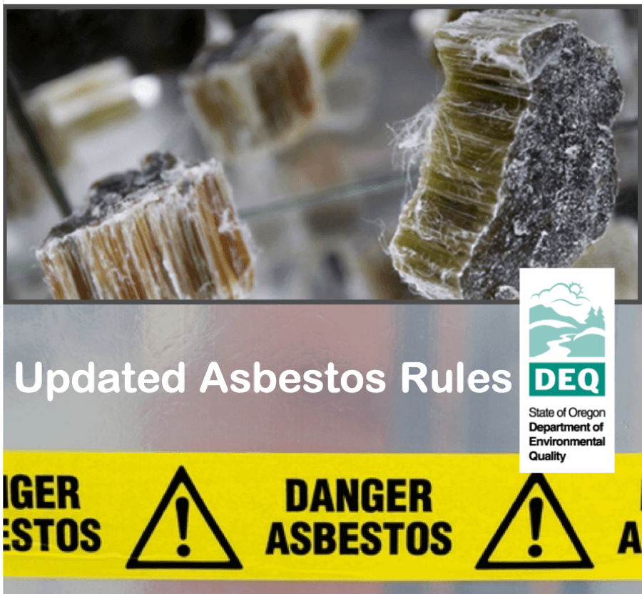 Updated Rules for Asbestos in Central Oregon